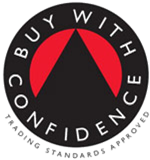 Buywith confidence transparent